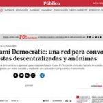 Tsunami Democràtic: una red para convocar protestas descentralizadas y anónimas